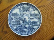 FLO BLUE plate SOUVENIR OF DAWSON SPRINGS KY NEW CENTURY SUMMIT HOUSE ARCADIA