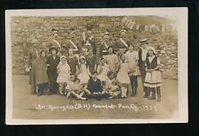 Social History St Georges (BH) Concert Party 1927 RP PPC unlocated