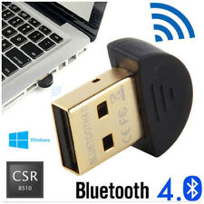 USB Bluetooth Dongle v4.0 Wireless Adapter for PC Windows 7 8 10 XP Vista 2.0 LE