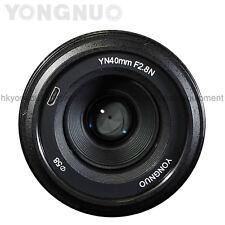 YONGNUUO 40MM F2.8 1:2.8 Light-weight Standard Prime AF/MF Lens for Nikon Camera