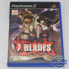 7 Blades - PS2 Game - Complete with Manual & Leaflet VGC - Sony PlayStation 2