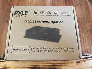 Pyle PFMRA340BB 2-Ch.  Marine Amplifier
