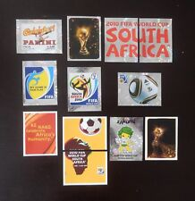 Panini FIFA World Cup South Africa 2010 Complete Front & Back Page Stickers