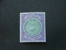 Antigua 1903 2/- grey-green & pale violet SG38 MM