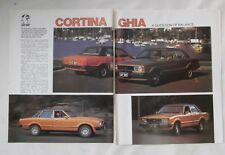 TE Ford Cortina Ghia Original Road Test Article Removed from a Magazine
