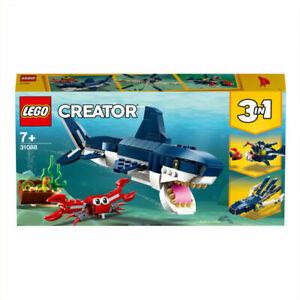 Deep Sea Creatures, LEGO® Creator 3in1 -Fast Shipping Free P&P