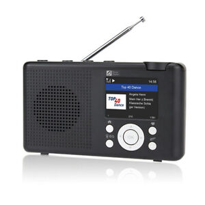 Ocean Digital WR23D DAB Digital Radio Bluetooth WiFi(Internet) Radio DAB+FM