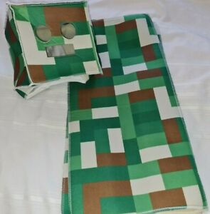 Kids Creeper Classic Minecraft Costume Green size Small head and body only