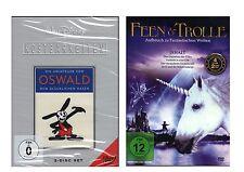 DVD-Sammlung - Paket - Walt Disney + Feen & Trolle - 4 DVD´s - neu - Restposten