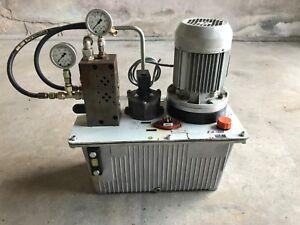 FMB Blickle Rexroth Hydraulikaggregat 0,55Kw Q 4,3l/min Hydraulik Antrieb