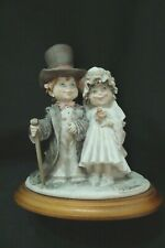 Giuseppe Armani Figurine Child'S Play Bride And Groom #132C New Condition