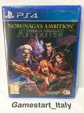 NOBUNAGA'S AMBITION SPHERE OF INFLUENCE ASCENSION SONY PS4 - NUOVO NEW SEALED