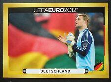 Panini d19 manuel neuer Alemania em 2012 Poland-Ucrania