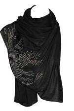 Sciarpe, foulard e scialli da donna stola nero