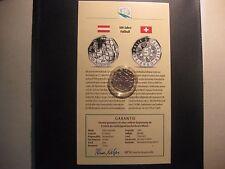 Österreich  5 Euro 100 Jahre Fußball in Österreich 2004