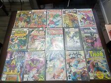 Bronze Age Marvel Lot of 21 Comic Books. X-Men, Spider-Man, Fantastic Four..