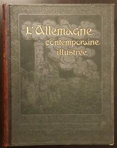 L'Allemagne contemporaine illustrée - Librairie Larousse - Jousset, BE