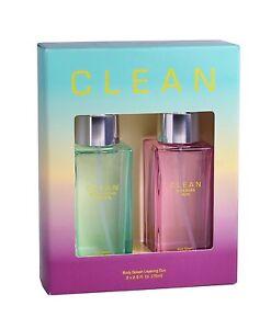 CLEAN Perfume Layering Duo Eau De Parfum Warm Cotton Breeze Sunkissed Skin