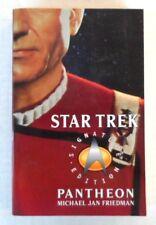 Star Trek Signature Edition Pantheon Paperback Novel Michael Jan Friedman