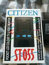 """Citizen ST-555 2.2"""" LCD Television Boxed with AC Power Suppley"""