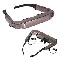 Smart 3D VR Video Glasses Android 4.4 WiFi Bluetooth Virtual + 5MP HD Camera MS