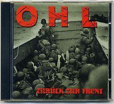OHL -Zurück Zur Front CD Der Fluch Deutscher W Emils Leverkusen Punk Deutschpunk