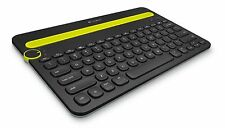 Logitech K480 Bluetooth Multi-Device Keyboard for Computers, Tablets & Phones