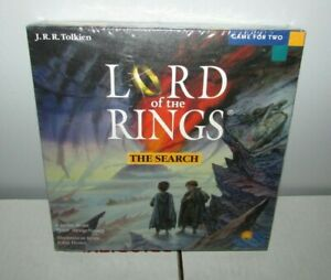 Lord of the Rings The Search For Mount Doom Board Game Sealed Rio Grande 2001