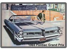 1965 Pontiac Grand Prix Auto Refrigerator / Tool Box  Magnet
