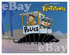 Rare! FLINTSTONES Cartoon TV Photo HANNA BARBERA Studios FRED IN PADDYWAGON