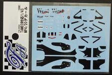 DECALS F'ARTEFICE FW-0004 1/43 MCLAREN MP4/20 TAMEO