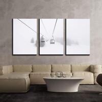 """16/""""x24/""""x3 Panels Elephant Wall26 Canvas Art Wall Decor"""