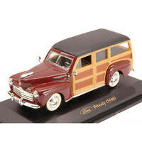 Ford Woody Brown 1948 Year 1/43 Scale RARE Collection Diecast Model Car YAT MING