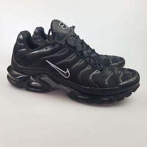 Men's NIKE 'Air Max Plus TN' Sz 12?? Runners Shoes Black GCon | 3+ Extra 10% Off