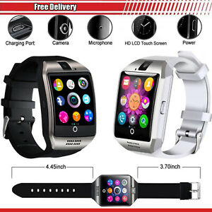 Bluetooth 5.0 Smart Watch SIM,TF,Camera,MP3,Call/SMS Alert For All Mobile Phones