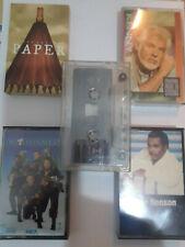 5 Cassettes Kenny Rogers Queen Latifah Ghostbusters II  George Benson Bob Marley