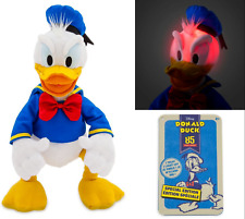 New Disney Donald Duck 85th Anniversary Talking Plush Special Edition 15' Le