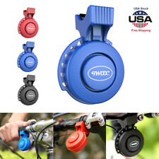 120db Cycling Ring Bell Electric Bicycle Waterproof Horn Bike Handlebar Alarm US