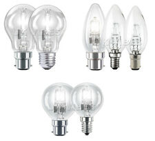 18w 28w 42w 70w 100w Light Bulbs Golf Ball Candle GLS Energy Savings Eco Lamps