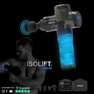 iSOLIFT Pulse Massage Gun Relief In muscle soreness & Stiffness!