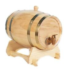 3L Wooden Whisky Wine Barrel Custom Name Groom Groomsman Gifts +