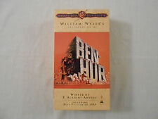 BEN-HUR Movie on 2 VHS Tapes: Charlton Heston/ Original/ Collectible