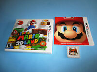 Super Mario 3D Land (Nintendo 3DS) XL 2DS Game w/Case & Manual