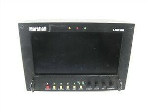 "Marshall V-R70P-HDA Monitor 7"" LCD Component V-Mount HD/SD Video Assist Display"
