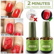 VINIMAY Nail Gel Magic Remover Soak Off Base Top Coat Nail Art Primer Lacquer Fq