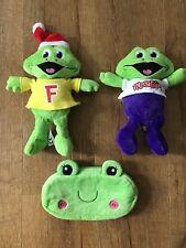 Cadburys Collectible Freddo Frog Soft Toys & Pencil Case Christmas Hat