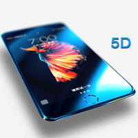 5D Full Cover 9H Tempered Glass Screen Protector Film For iPhone 8 7 6S X Plus