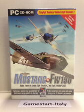 MUSTANG VS FW 19 - ADD ON ESPANSIONE FLIGHT SIMULATOR 2 AND 2002 - PC NUOVO NEW