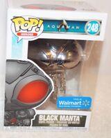 New Funko Pop Black Manta (Chrome) Aquaman Exclusive #248