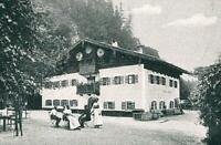 Berchtesgaden : Gasthaus Unterstein - Dorfansicht - um 1915         Z 33-29